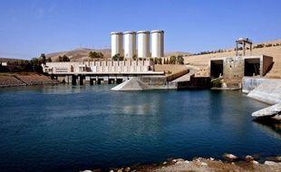 Le barrage de Mossoul, à 360 km au nord-ouest de Bagdad, le 31 octobre 2007.