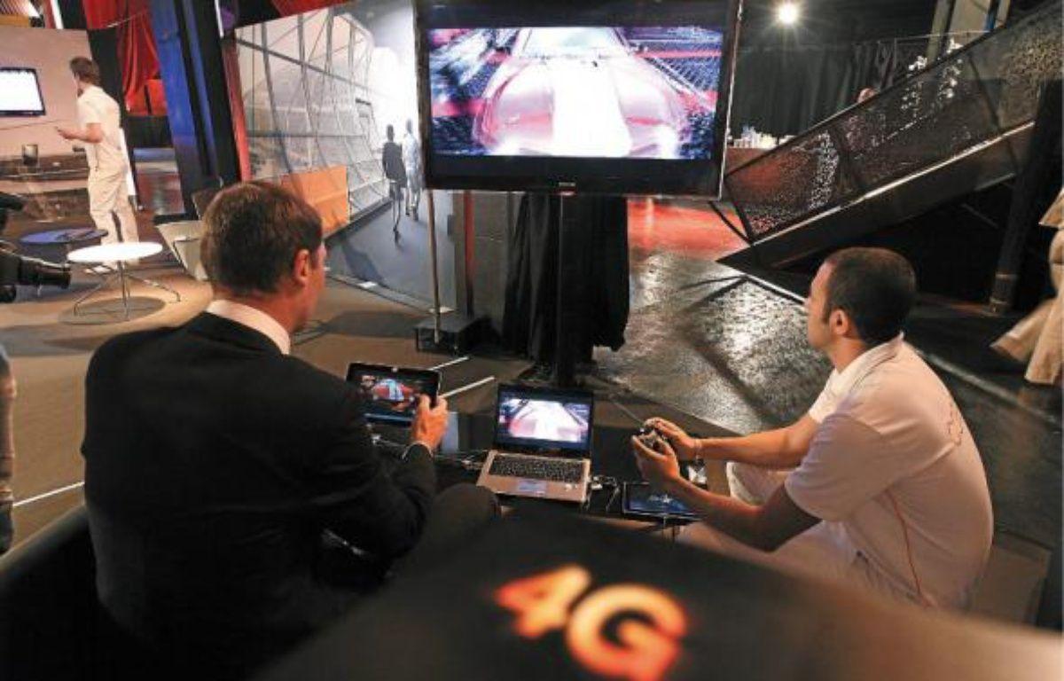 Les offres commerciales 4G Orange pourraient être lancées début 2013. –  p.magnien / 20 minutes