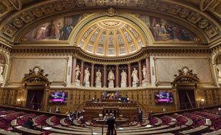 Le Sénat, à Paris, en 2016.