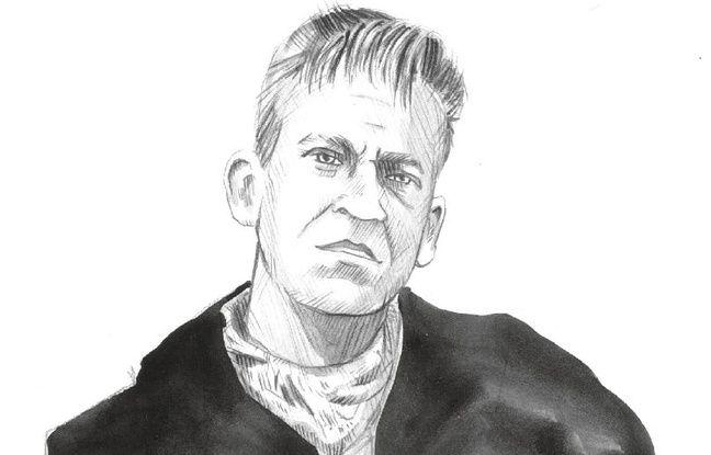 Portrait d'Hervé Rybarczyk.
