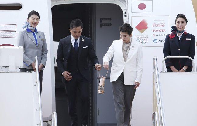 Tokyo 2020: La flamme olympique est au Japon, malgré des JO en suspens