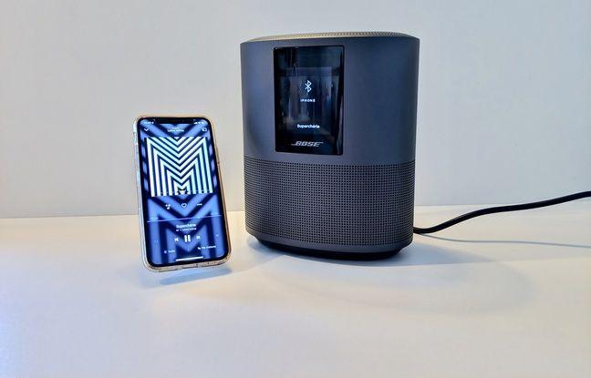 L'application Bose Music permet de jouer des titres en Bluetooth.