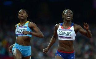 Le rêve et l'improbable ont illuminé la 5e journée d'athlétisme des jeux de Londres, marquée par le sacre de l'Australienne Sally Pearson sur 100 m haies et l'exploit de Myriam Soumaré, 1re française à se qualifier pour la finale olympique du 200 m depuis Marie-José Pérec en 1996.