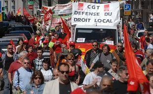 Manifestation du 1er Mai. Le 01 05 07