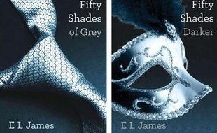 Les deux premiers tomes de la saga érotique à succès de E.L. James.