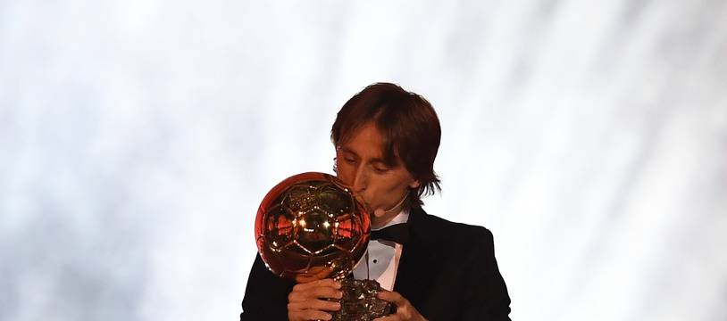 Luka Modric et son nouveau joujou