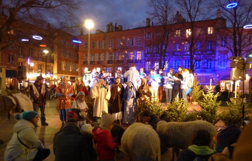 Toulouse : Injures et bousculades, une crèche vivante obligée d'interrompre son spectacle en centre-ville