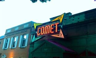 La pizzeria Comet Ping Pong à Washington.