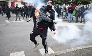 La manifestation contre la loi Travail à Nantes a dégénéré après le départ des syndicats, jeudi 2 juin / AFP / JS Evrard