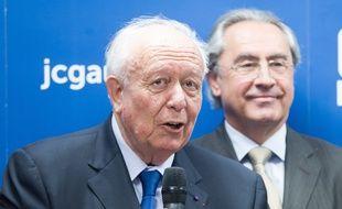 Jean-Claude Gaudin, en 2014, à Marseille.