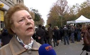 Danielle, dont le témoignage sur BFMTV a ému les réseaux sociaux après les attentats du 13 novembre 2015 à Paris.