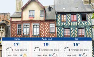 Météo Rennes: Prévisions du lundi 2 août 2021