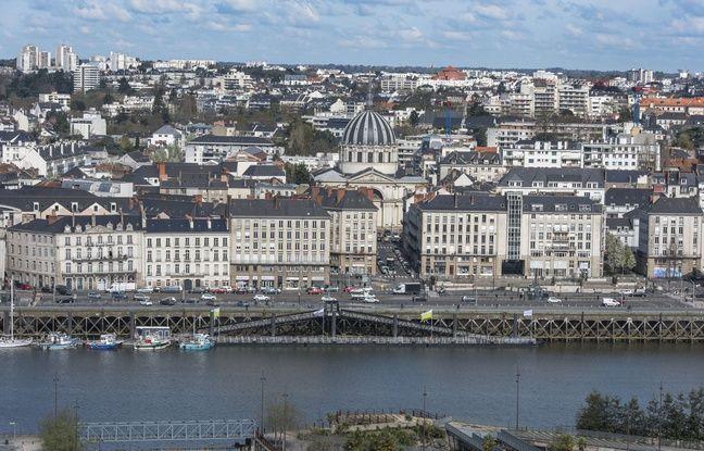 Le quai de la Fosse à Nantes.