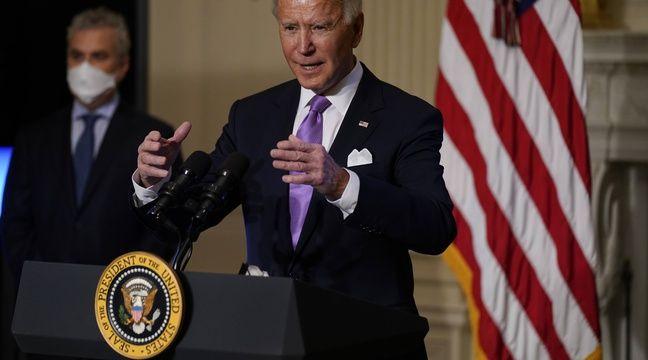 Coronavirus: Tous les Américains vaccinés d'ici la fin de l'été, espère Joe Biden