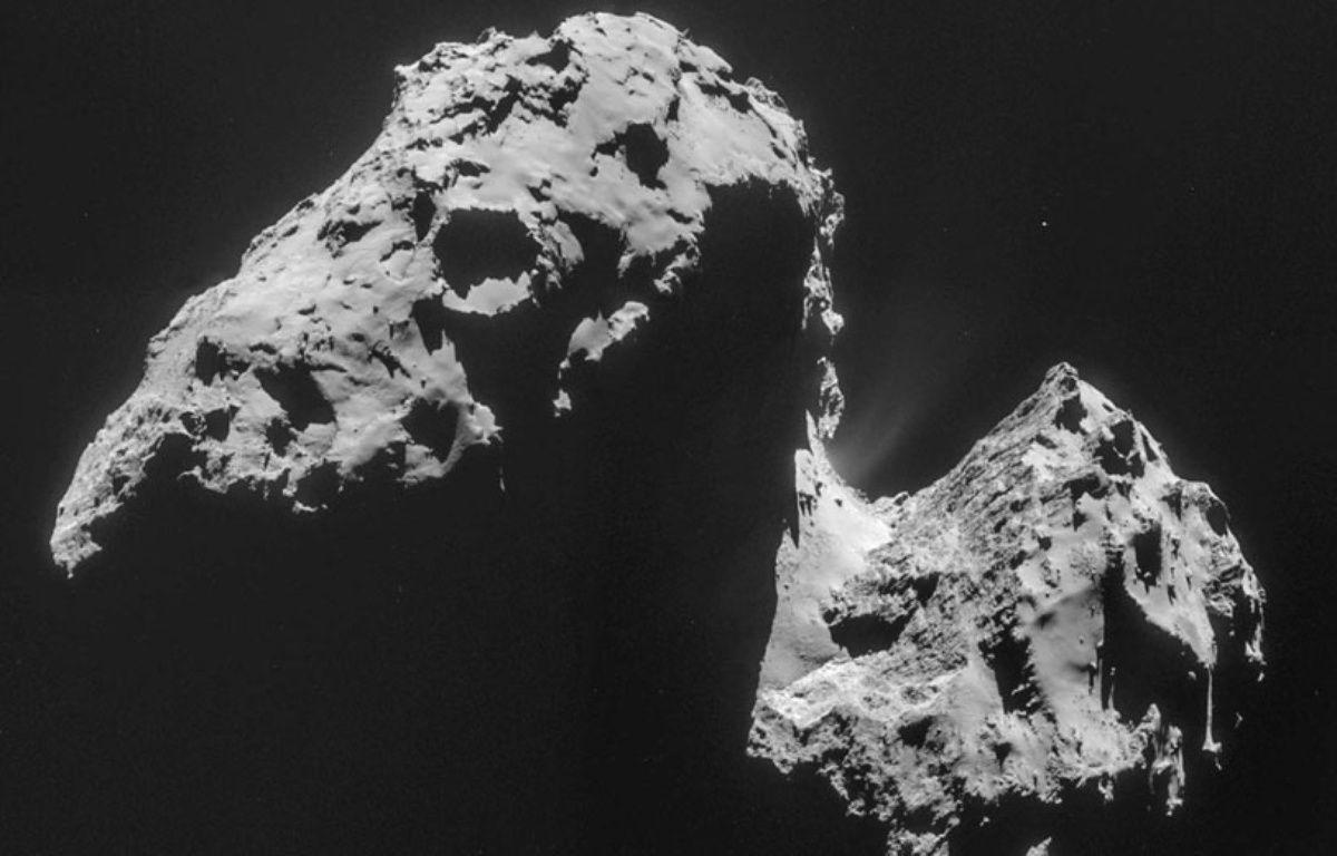 La comète Tchouri vue par la sonde Rosetta. – AP/SIPA