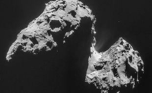 La comète Tchouri vue par la sonde Rosetta.