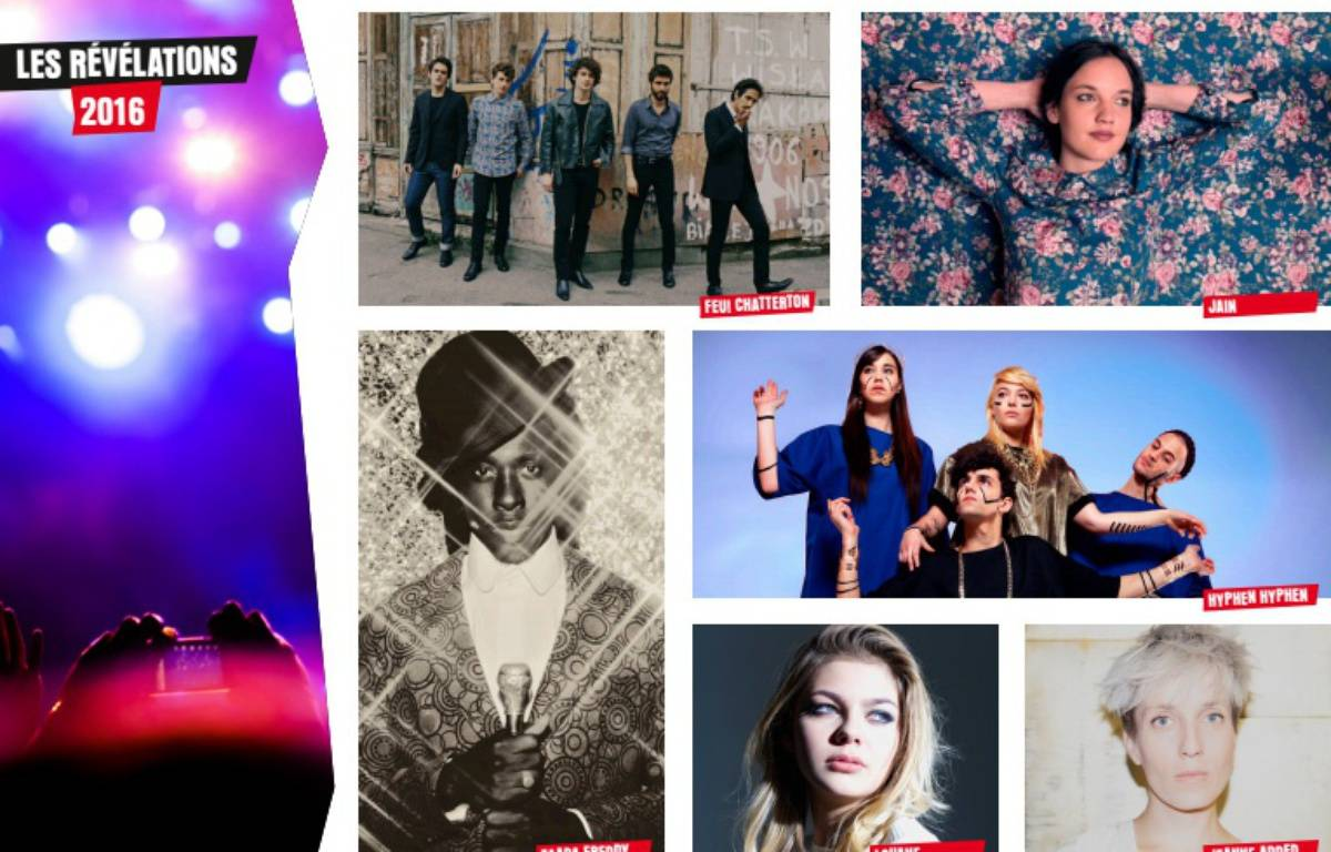 Les artistes nominés dans les catégories «révélations» des Victoires de la Musique 2016 – France 2