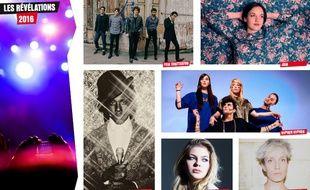 Les artistes nominés dans les catégories «révélations» des Victoires de la Musique 2016
