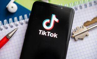 Illustration du logo de TikTok