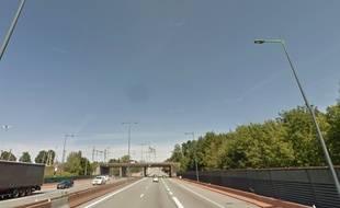 L'homme, âgé de plus de 70 ans, a pris l'autoroute a vélo sur la bande d'arrêt d'urgence, au niveau de Belfort.