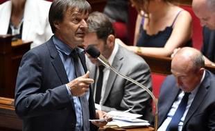 Nicolas Hulot à l'Assemblée nationale, le 27 juin 2018.