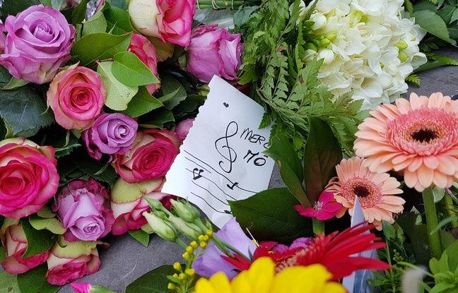 La cérémonie d'obsèques de la chanteuse belge Maurane.