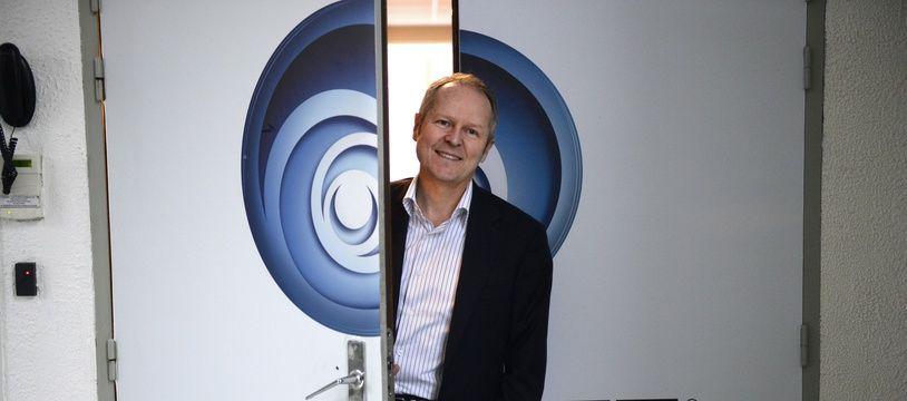 Le PDG d'Ubisoft, Yves Guillemot, en 2013.