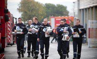 Des pompiers du SDIS 13.