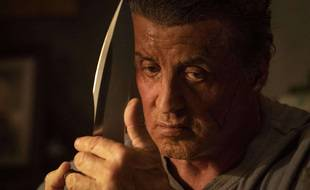 Sylvester Stallone dans le rôle de John Rambo.