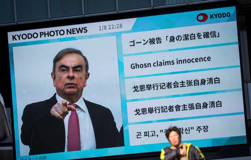 Affaire Carlos Ghosn : Une fuite « injuste », toujours un « prévenu »… Comment l'ex-patron est-il vu au Japon après sa fuite ?
