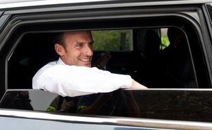 Avant de se rendre à Saint-Brieuc, Emmanuel Macron avait visité le Cap Fréhel le 20 juin 2018.