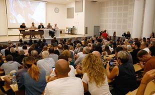 Réunion organisée le 29 septembre dernier par le parti