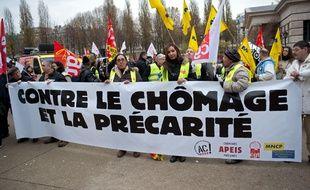 Une manifestation en décembre 2013 à Paris.