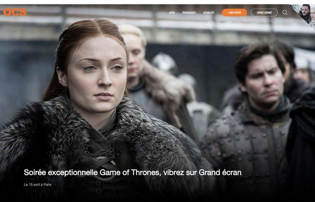 OCS met les petits plats dans l'écran pour l'ultime saison de Game of Thrones.