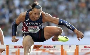 Pascal Martinot-Lagarde, en pleine course le vendredi 10 août.