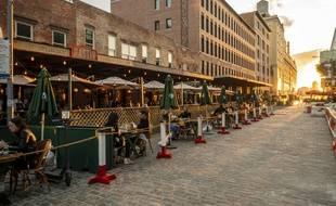 Les restaurants ont dû faire face à une baisse d'activité depuis plusieurs mois.