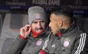 Ribéry et Tolisso sur le banc du Bayern.