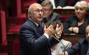 Le ministre de l'Economie Michel Sapin a porté le texte anti-corrupion face aux parlementaires.