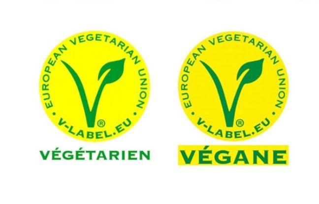Le label de certification végan.