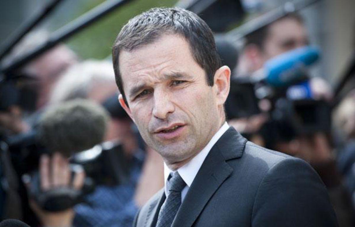 Benoit Hamon à la sortie du conseil des ministres, le 23 mai 2012. – V. WARTNER / 20 MINUTES
