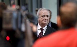 Martin Winterkorn, l'ancien chef de l'entreprise, sera l'une des personnes clefs du procès qui s'ouvre lundi.
