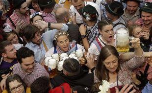 Le festival de la bière à Munich, en octobre 2016.