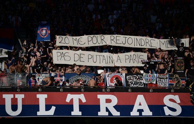 PSG: Chants insultants et banderoles anti-Neymar... Les ultras ont fait la totale pour le retour du Brésilien au Parc