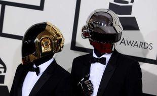 Daft Punk a remporté cinq trophées aux Grammy Awards, le 26 janvier 2014.