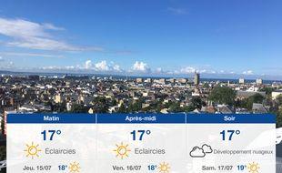 Météo Le Havre: Prévisions du mercredi 14 juillet 2021