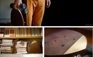 Le Skëtt Pocket est un skateboard pliant développé pour le concours Make It Happen.