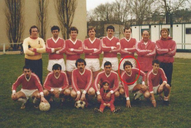 Waldemar Kita sous le maillot de la Ferté-sous-Jouarre, saison 1981-1982.