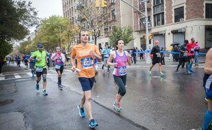 Illustration du marathon de New York.