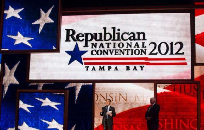 La Convention républicaine se tient à Tampa, en Floride, du 27 au 30 septembre 2012.