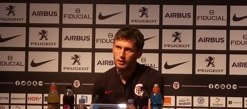 A 28 ans, Pierre Pagès découvre le Top 14 avec le Stade Toulousain.